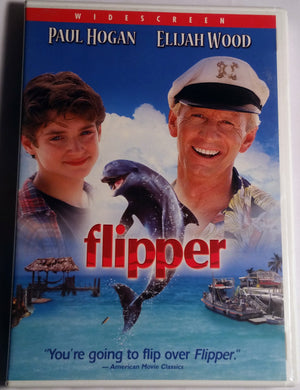 Flipper Starring Elijah Wood DVD