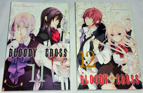 Bloody Cross Manga Series Volume 11 and 12