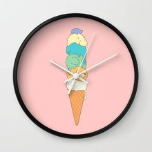 Load image into Gallery viewer, Melting Wall clock