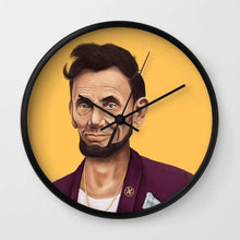 Load image into Gallery viewer, Abraham Lincoln Wall clock
