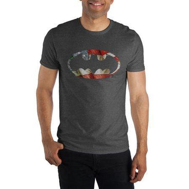 The Batman Patriotic Bat Symbol T-shirt Tee Shirt