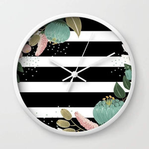 Fancy Lines Wall clock