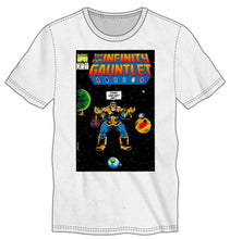 Load image into Gallery viewer, Marvel Comics Thanos The Infinity Gauntlet Men's White T-Shirt Tee Shirt