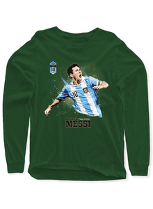 Messi Full Sleeves T-shirt
