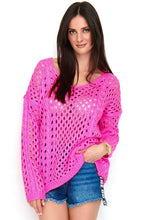 Load image into Gallery viewer, Pink Makadamia Sweater