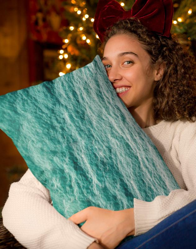 Flow Rectangle Pillow