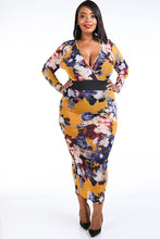 Load image into Gallery viewer, Plus Size Mesh Maxi Dress