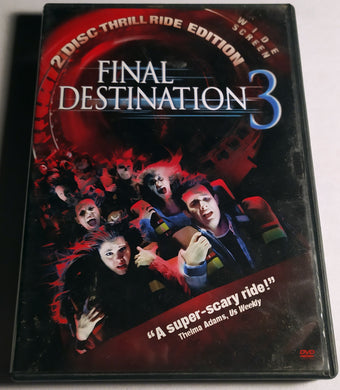 Final Destination 3 - Widescreen 2 Disc Thrill Ride Edition