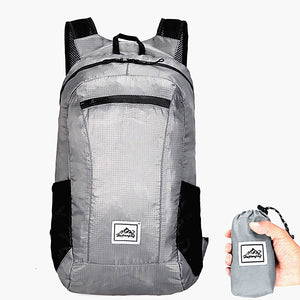 Foldable Lightweight Backpack - Fits In Your Pocket!