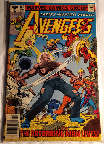 The Avengers #183 - The Absorbing Man Lives!