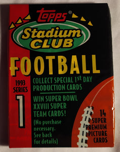 Topps Stadium Club 1993 Series 1