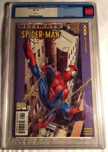 Ultimate Spiderman #8 Graded 9.4 By CGC!