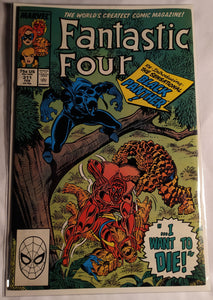 Fantastic Four #311 - Re-Introducing The Sensational Black Panther