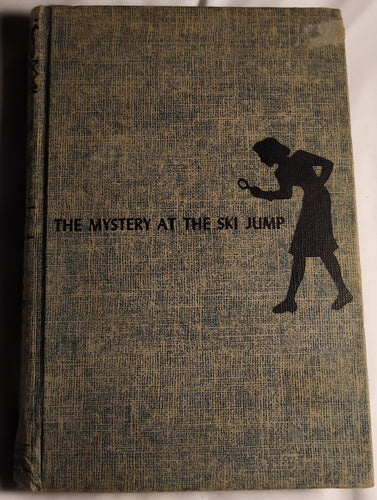 The mystery at the ski jump. Vintage book