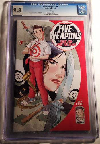 Five Weapons #1 Graded 9.8 NM by the CGC!
