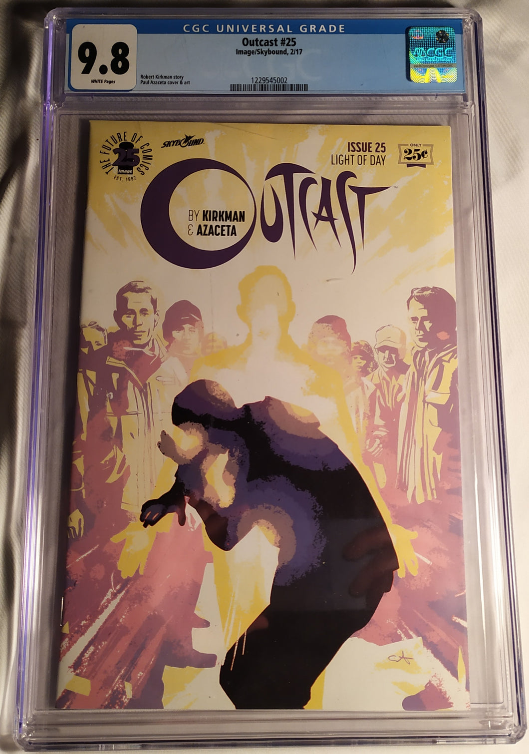 Outcast #25 Graded 9.8 NM By CGC!