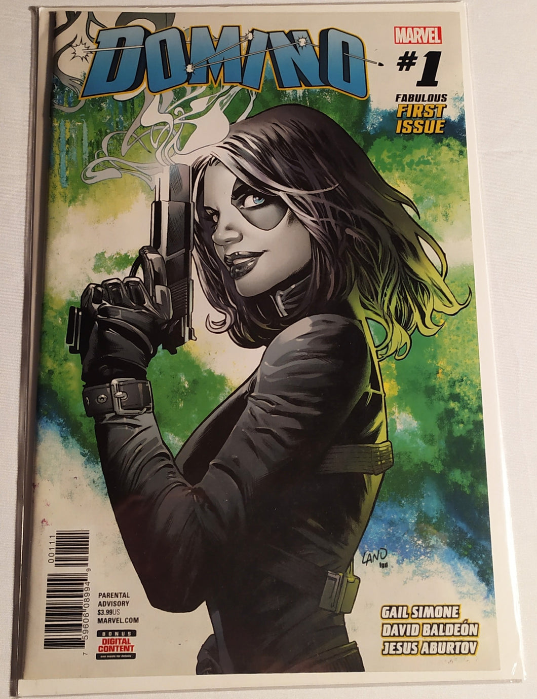 Domino#1 Marvel Comics