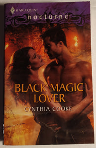 Harlequin Back Magic Lover by Cynthia Cooke