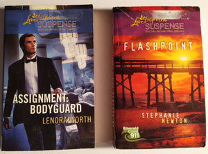 Love Inspired Suspense Paperback Bundle