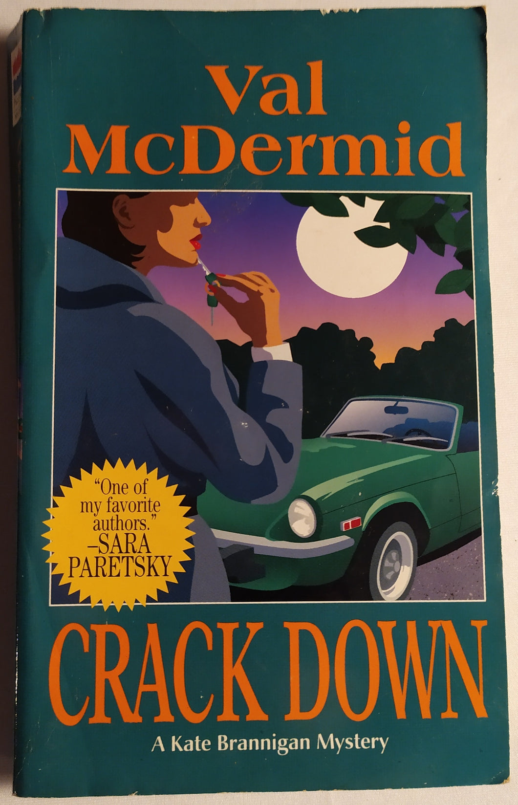 Crackdown - A Kate Brannigan Mystery by Val McDermid