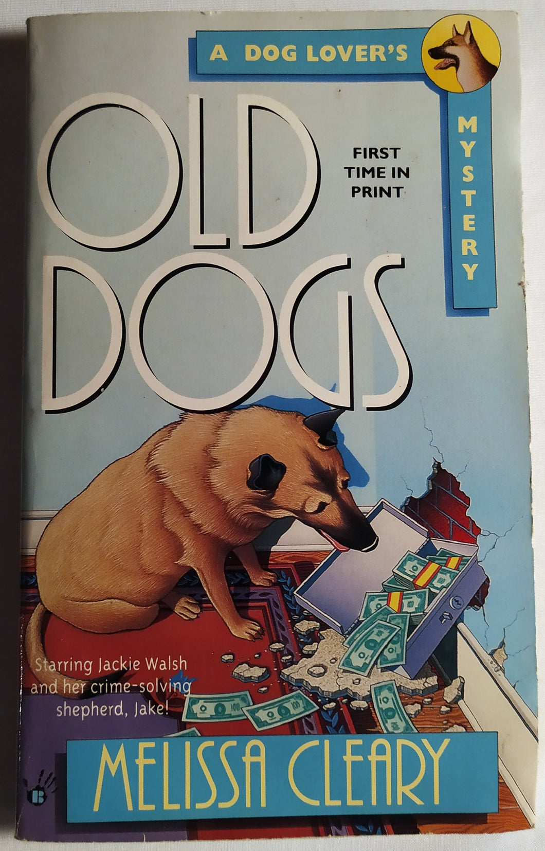 Old Dogs- A Dog Lover Mystery Paperback