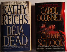 Load image into Gallery viewer, Mystery/Crime Paperback Bundle Featuring Kathy Reichs