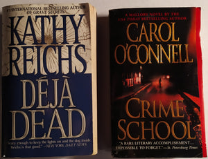 Mystery/Crime Paperback Bundle Featuring Kathy Reichs