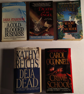 Mystery/Crime Paperback Bundle