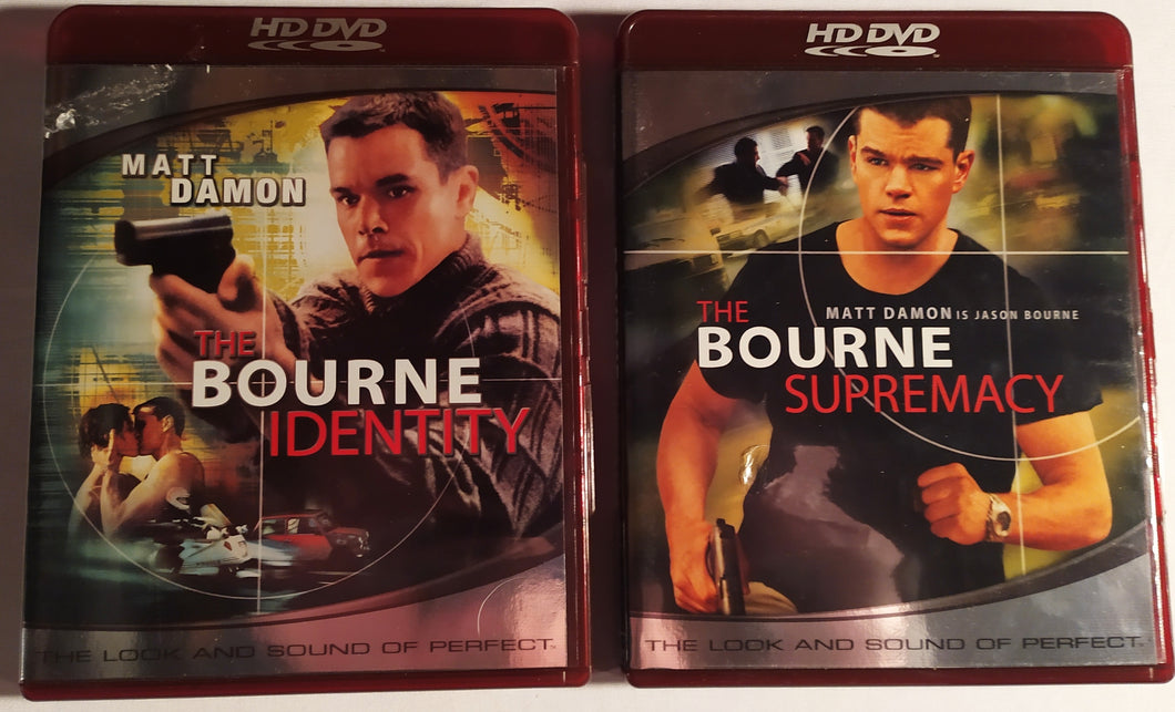 HD DVD Double Feature - Bourne Identity and Supremacy