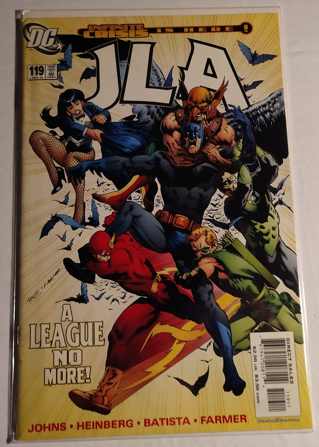 JLA #119 - Infinite Crisis Is Here! A League No More!