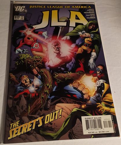 Justice League of America #117 - The Secrets Out!