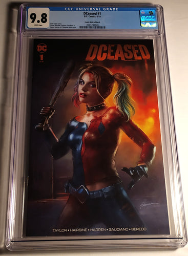 Dceased #1 Graded 9.8 NM By CGC