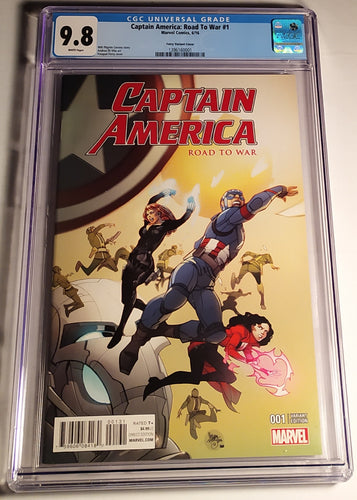 Captain America: Road To War#1 Graded 9.8 NM By CGC