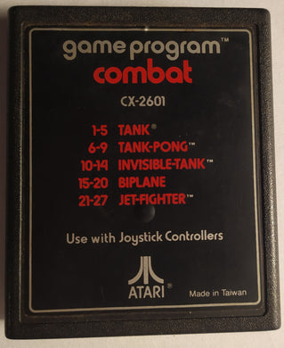 Combat Game Program For Atari 2600 (27 Games In One!)