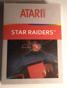 Star Raiders Atari 2600 Game