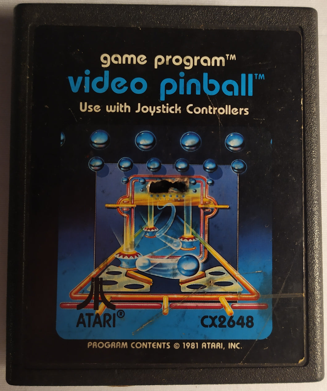 Video Pinball for Atari 2600