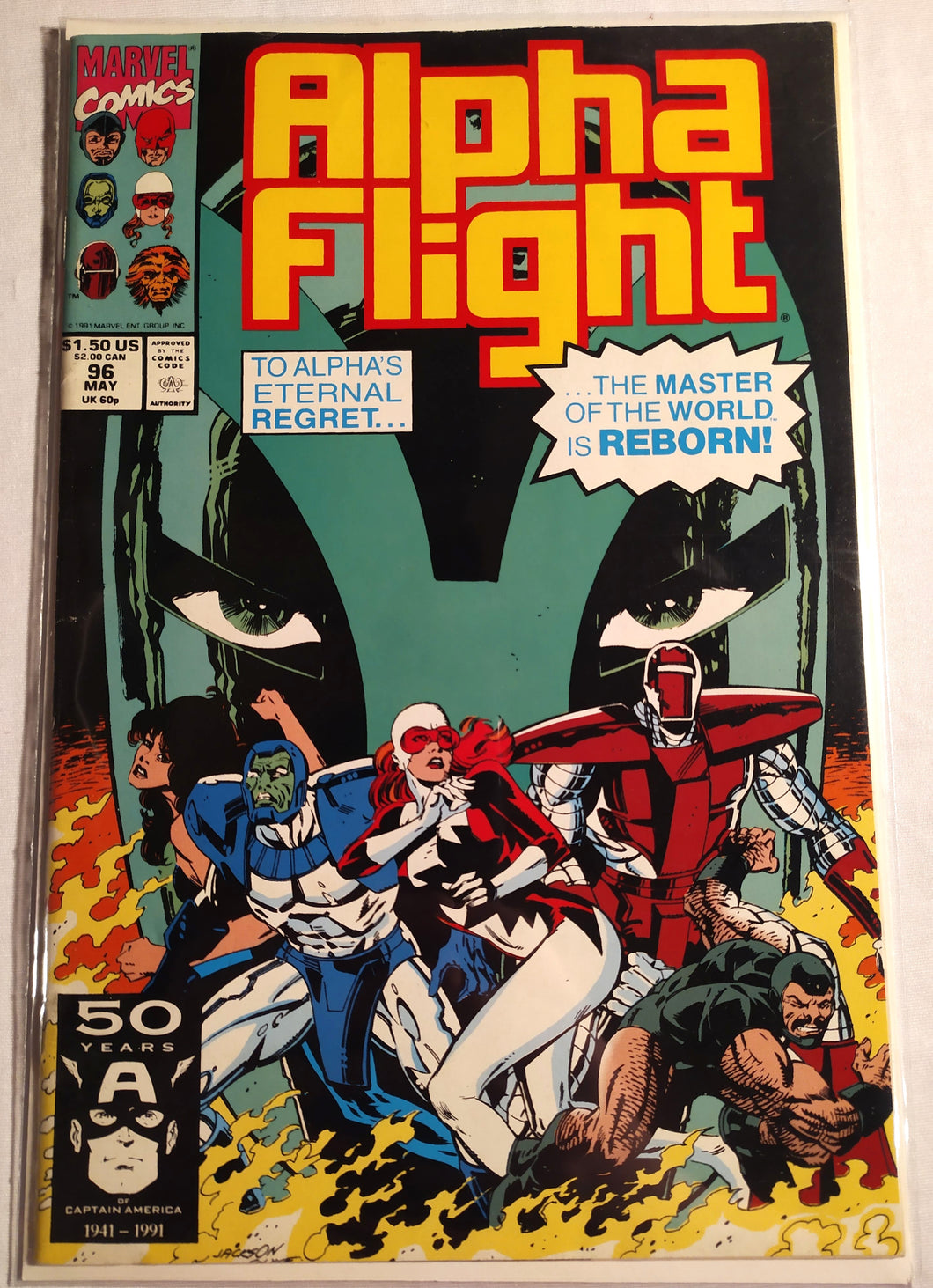 Alpha Flight #96 - The Master of The World is Reborn!