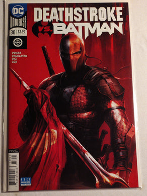 DC Universe: Deathstroke Vs Batman #30
