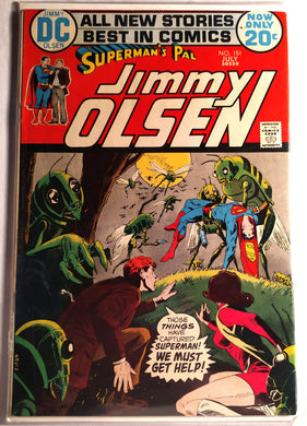 Superman's Pal Jimmy Olsen #151- #153 Lot - 20 Cent Comics From 1972!