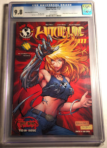 Witchblade #111 Graded 9.8 NM By The CGC - Wizard World 2007 Exclusive Edition!