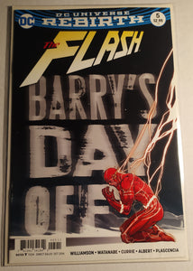 Flash Rebirth #5 - Barry's Day Off!