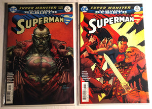 DC Rebirth Superman #12 and #13 - Super Monster Part 1 and 2!