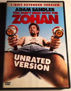 You Don't Mess With The Zohan - Single-Disc Unrated Extended Version