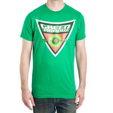 Green Arrow Bullseye Target Men's Green T-Shirt Tee Shirt