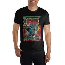 Load image into Gallery viewer, Ghost Rider Comic Book Cover Black T-Shirt Tee Shirt