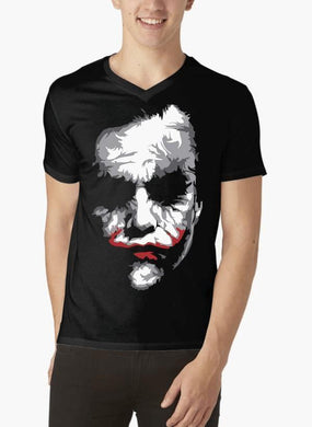 Heath Joker V-Neck T-shirt