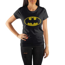 Load image into Gallery viewer, DC Comics Gotham Batman Bat Signal Women's Tee Shirt T-Shirt