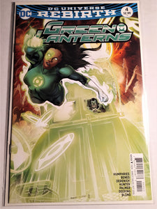 DC Rebirth Green Lanterns #4