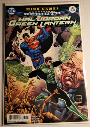 Hal Jordan and The Green Lanterns Corps #31 - Featuring Superman!