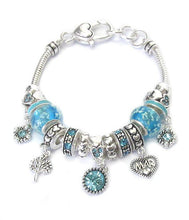 Load image into Gallery viewer, Birthstone Charm Bracelets